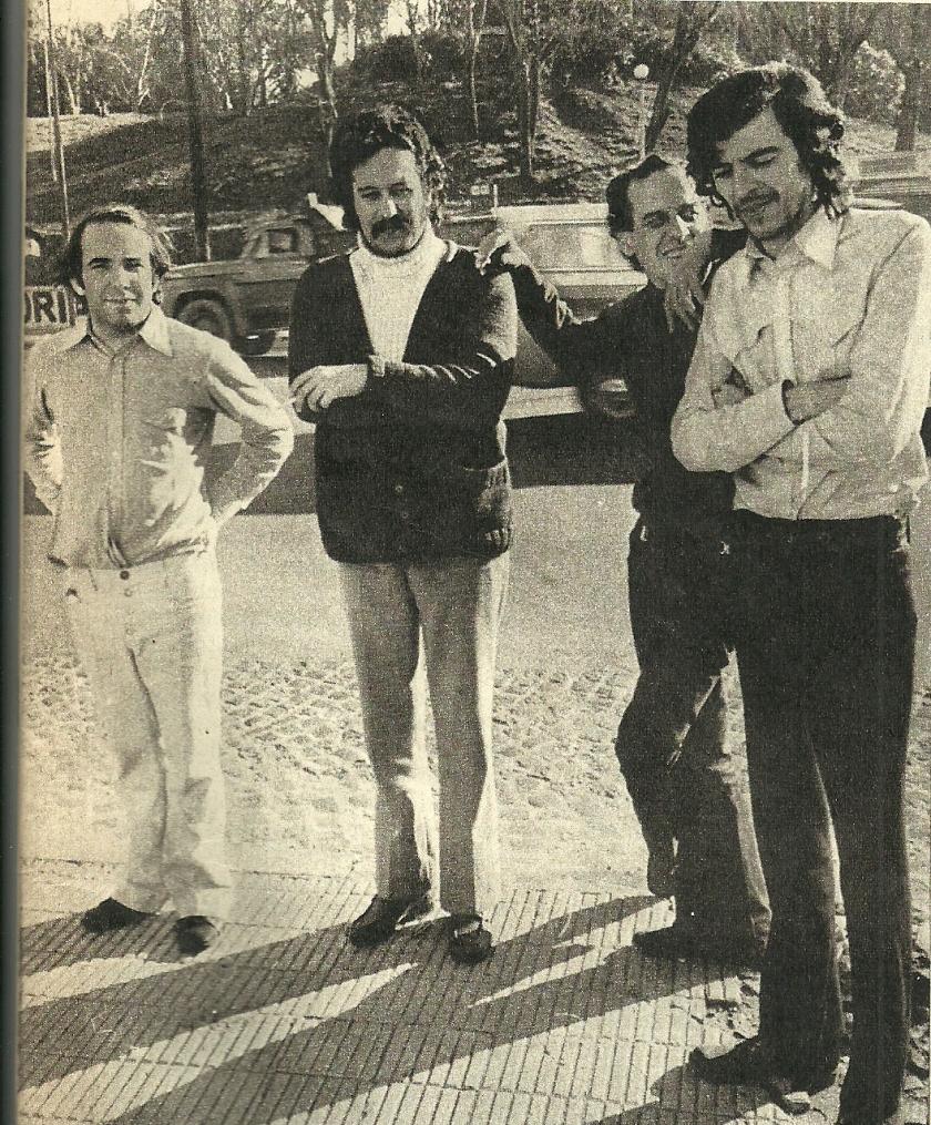 Literal: García, Lamborghini, Zelarrayán y Guzmán